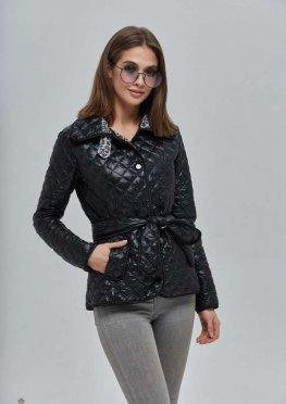 Mila Nova Куртка К-93 Чёрная