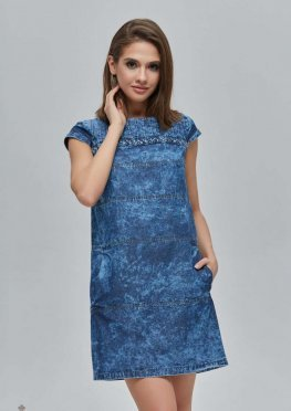 Mila Nova Джинсовое платье Ф-76