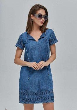 Mila Nova Джинсовое платье Ф-74