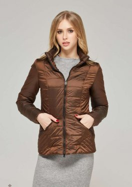 Mila Nova Куртка К-63х Шоколад