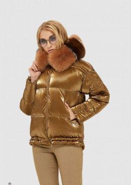 Mila Nova Куртка К-104 Золото