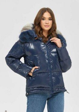 Mila Nova Куртка К-104 Синий