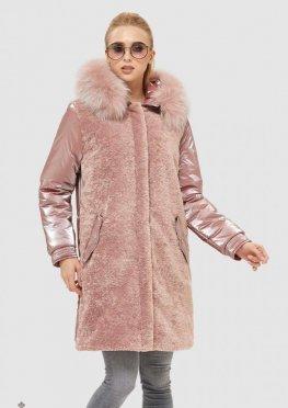 Mila Nova Куртка К-101 Розовая