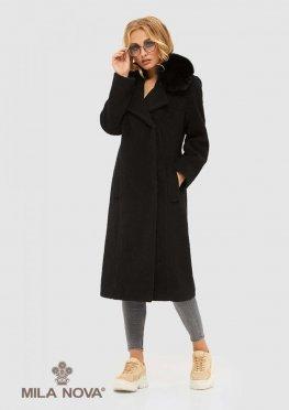 Mila Nova Пальто ПВ-97 Черное