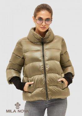 Mila Nova Куртка К-28 Хаки