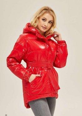 Mila Nova Куртка К-123 Красная