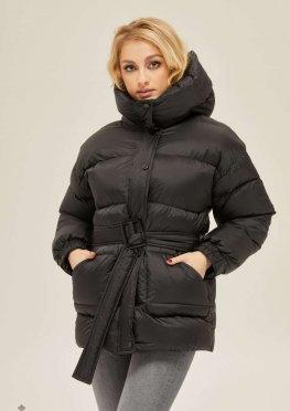 Mila Nova Куртка К-127 Черная матовая
