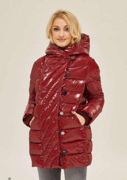 Mila Nova Куртка К-136 Бордо