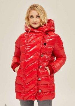 Mila Nova Куртка К-136 Красная