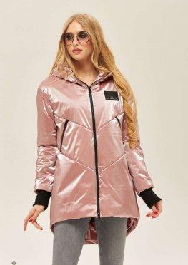 Mila Nova Куртка-плащ К-66 Розовая