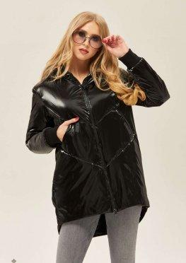 Mila Nova Куртка-плащ К-66 Черная
