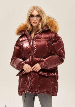 Mila Nova Куртка К-128 Бордо