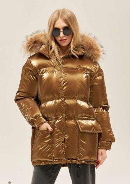 Mila Nova Куртка К-128 Золото