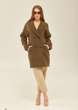 Mila Nova Пальто ПВ-164 Хаки