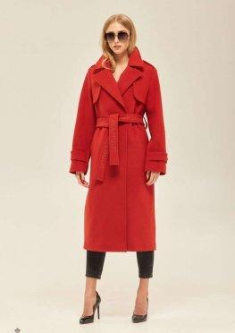 Mila Nova Пальто ПВ-172 Красное
