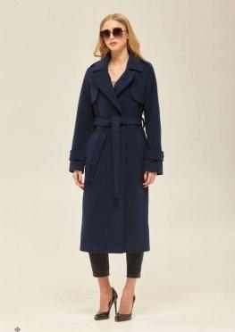 Mila Nova Пальто ПВ-172 Синее