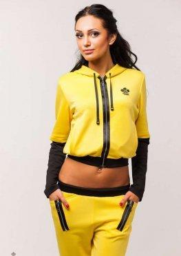 Мила Нова Спортивный костюм М15 Жолтый
