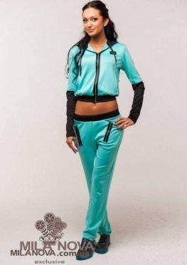 Мила Нова Спортивный костюм М15 Мята