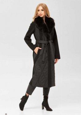 Mila Nova Пальто ПВ-186 н черный