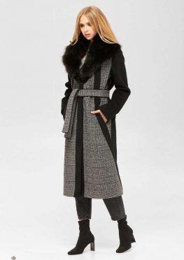 Mila Nova Пальто ПВ-186 м черный