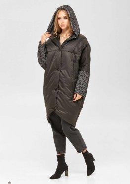 Mila Nova Пальто ПВ-194 черный