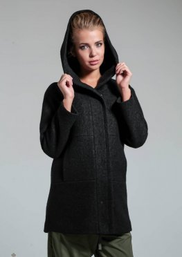 Mila Nova Пальто З-26 Черный