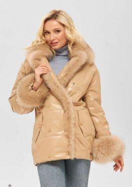 Mila Nova Куртка К-160 кв бежевый
