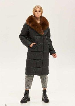 Mila Nova Пальто ПВ-210 черный