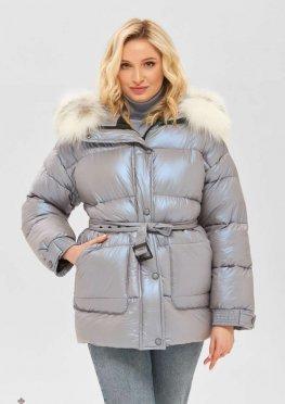 Mila Nova Куртка К-183 голубой