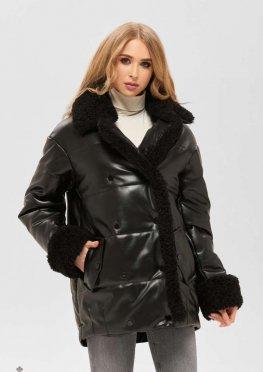 Mila Nova Куртка К-160 кв,1 черный