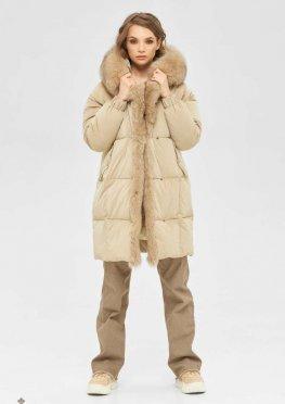 Mila Nova Куртка К-170 бежевый
