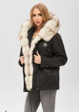 Mila Nova Куртка К-176 черный