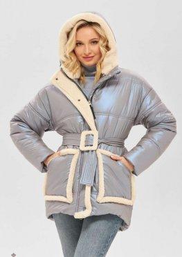Mila Nova Куртка К-184 голубой