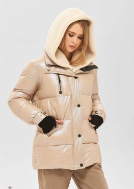 Mila Nova Куртка К-186 бежевый