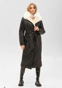 Mila Nova Пальто ПВ-229 черный