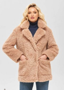 Mila Nova Пальто ПВ-92 розовый