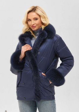 Mila Nova Куртка К-160 синий