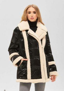 Mila Nova Куртка К-187 черный