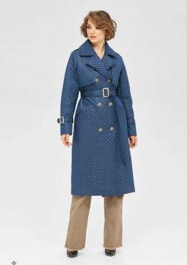 Mila Nova Пальто ПВ-236 синий