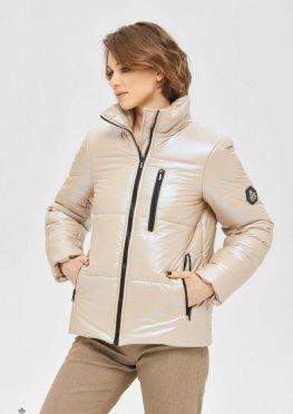 Mila Nova Куртка К-165 бежевый