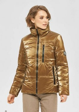 Mila Nova Куртка К-165 золото