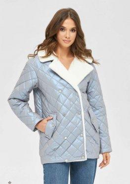 Mila Nova Куртка К-167 голубой