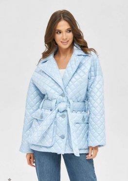 Mila Nova Куртка К-168 голубой