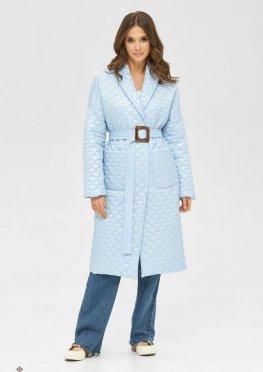 Mila Nova Пальто ПВ-241 голубой