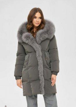 Mila Nova Куртка К-170 серый