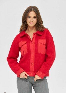 Mila Nova Куртка К-166 красный