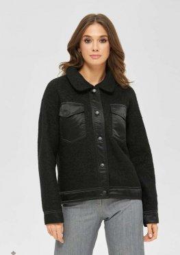 Mila Nova Куртка К-166 черный
