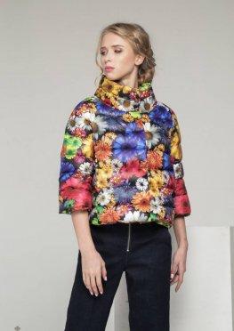 Mila Nova Куртка С-10д Цветы