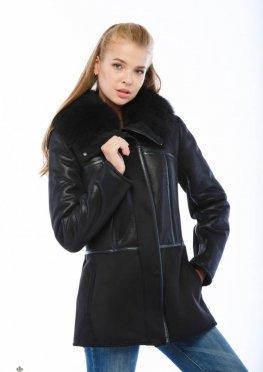 Дубленка Mila Nova Д-110 черный