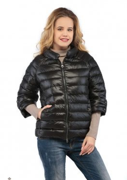 Mila Nova Куртка черная КВ-3